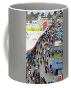Aerial View Santa Cruz Boardwalk Coffee Mug