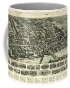 Aero View Of Watertown, Connecticut  Coffee Mug