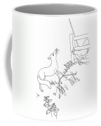 Aesop: Fox And Rooster Coffee Mug