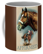 Affirmed With Name Decor Coffee Mug by Becky Herrera