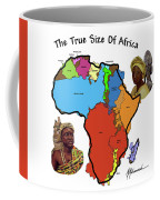 Africa In Perspective Coffee Mug