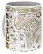 Africa Nova Map Coffee Mug