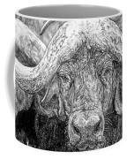 African Cape Buffalo Coffee Mug