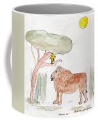 African Cat Coffee Mug