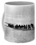 African Elephant Herd Coffee Mug