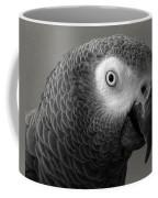 African Gray Coffee Mug