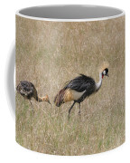 African Grey Crown Crane Coffee Mug