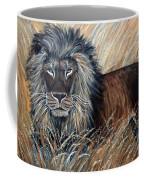 African Lion 2 Coffee Mug