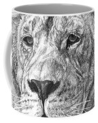 African Nobility - Lion Coffee Mug