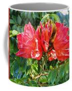 African Tulip Flower #2 Coffee Mug