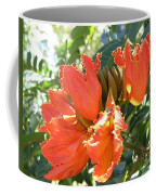 African Tulips Coffee Mug