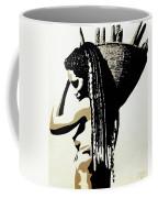 African Woman With Basket Coffee Mug