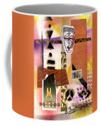 Afro Collage - E Coffee Mug