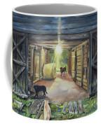 After Hours In Pa's Barn - Barn Lights - Labs Coffee Mug