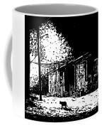 After Midinght - Black And White Coffee Mug