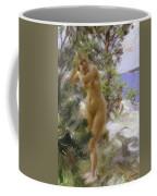 After The Bath, 1895 Coffee Mug