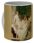 After The Bath Coffee Mug by Karoly Lotz