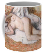 After The Bath Or Reclining Nude Coffee Mug