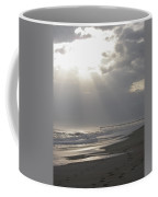 After The Storm - Frisco Pier - Outer Banks Nc Coffee Mug