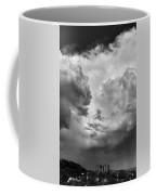 After The Storm Bw  Coffee Mug