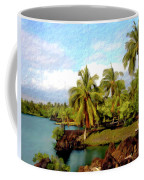 Afternoon At Mauna Lani Hawaii Coffee Mug