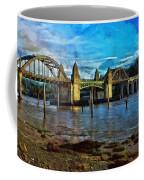 Afternoon At Siuslaw River Bridge Coffee Mug