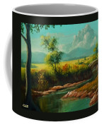 Afternoon By The River With Peaceful Landscape L A S Coffee Mug