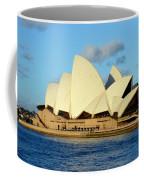 Afternoon Light On The Sydney Opera House Coffee Mug