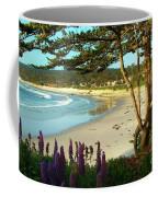 Afternoon On Carmel Beach Coffee Mug
