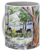 Afternoon Siesta On The Farm Coffee Mug