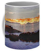 Afternoon Sun On Marblehead Neck Coffee Mug