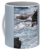 Against The Rocks Coffee Mug
