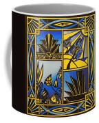 Art Deco In Blue Coffee Mug