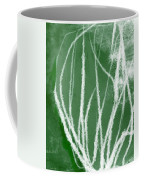 Agave- Abstract Art By Linda Woods Coffee Mug
