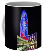 Agbar Tower In Barcelona Coffee Mug
