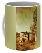 Aged Australia Countryside Scene Coffee Mug