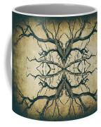 Aged Sepia Tree Dual Coffee Mug