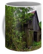 Aged Wood Barn Coffee Mug