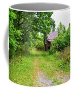 Aging Barn In Woods Coffee Mug