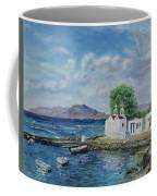 Agios Ioannis Beach, Mykonos Greece Coffee Mug