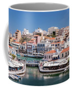 Agios Nikolaos Lagoon Entrance Coffee Mug