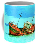 Aground Off Jamaica Coffee Mug