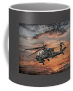 Ah-64 Apache Attack Helicopter Coffee Mug by Randy Steele