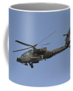 Ah-64 Apache In Flight Over The Baghdad Coffee Mug by Terry Moore