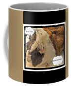 Ahh Guinea Pig Greetings Coffee Mug