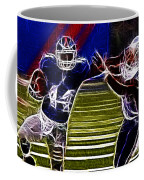 Ahmad Bradshaw Coffee Mug by Paul Ward