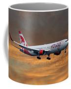 Air Canada Rouge Boeing 767-333 3 Coffee Mug