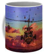 Air Cavalry Bell Uh-1 Huey  Coffee Mug