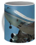Air Force One Final Approach Into Charleston Sc Coffee Mug
