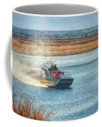 Airboat Rides Coffee Mug